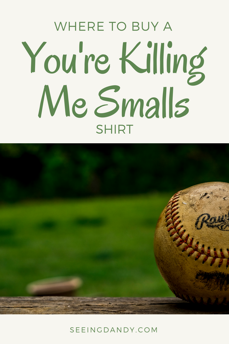 6a96a63bc3439 ... you find out the reaction from a young one wearing a You re Killing Me  Smalls shirt. Brace yourselves. The age train is about to come into the  station!
