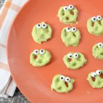 Slime Monster Pretzels For The School Halloween Party