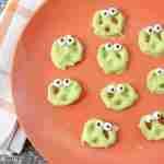 Slime Monster Pretzels For The School Halloween Party