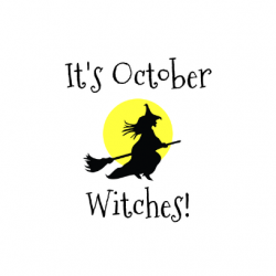 It's October Witches: 5 Must Have Halloween Shirts