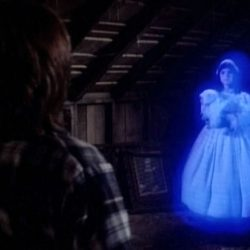 Creepy Disney lesser known Halloween movies. Child of Glass movie footage.