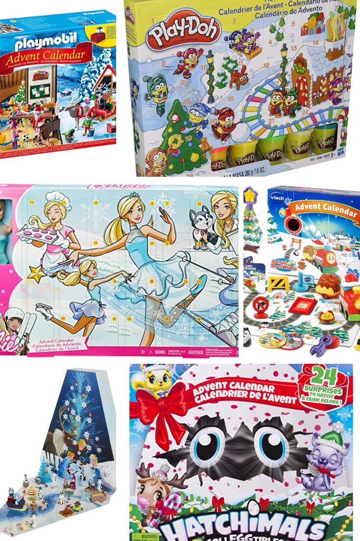 So many Chirstmas advent calendars that are perfect for kids.