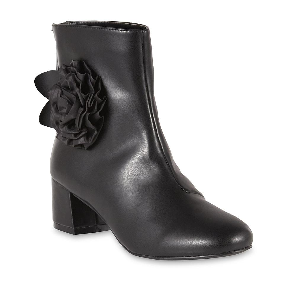 Stylish boot with floral accent on the Sears Cyber Monday Deals.