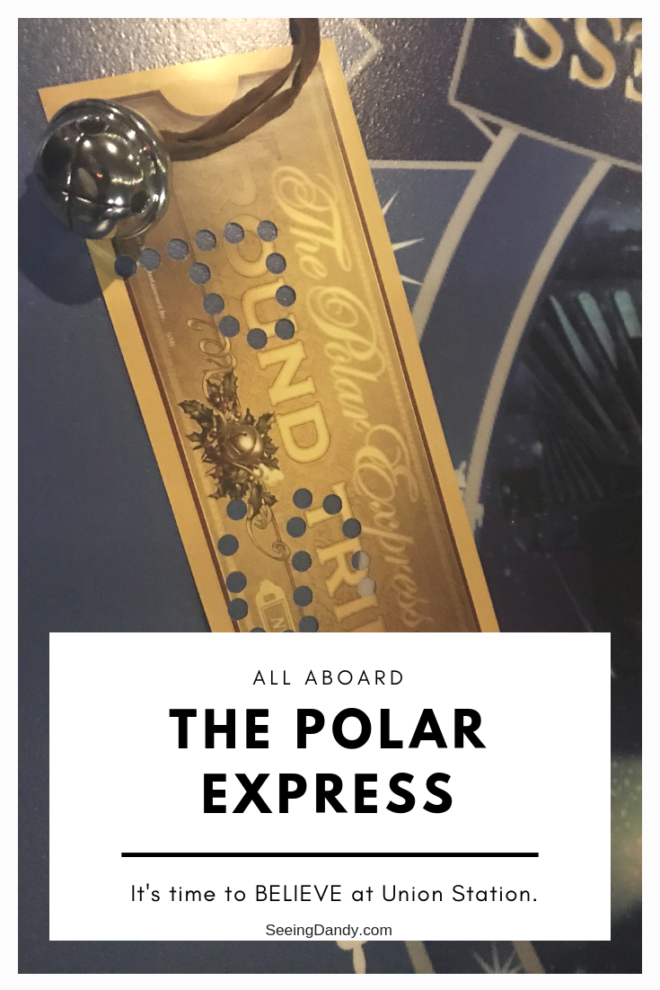 Union Station Polar Express holiday tradition in St. Louis.