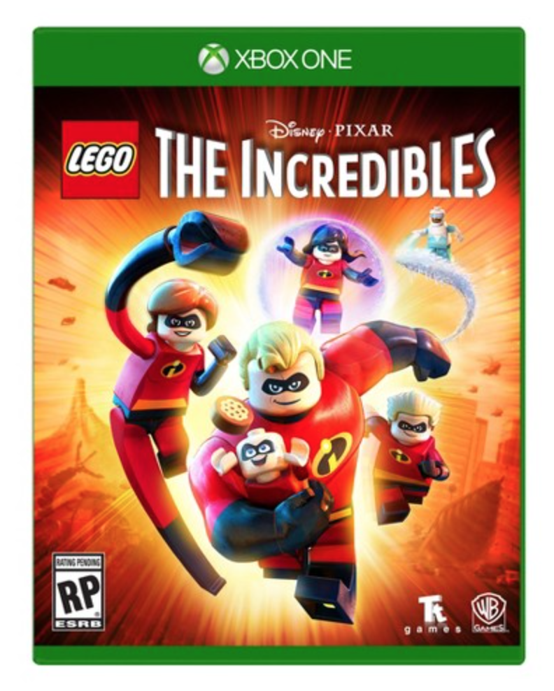 Disney Pixar LEGO The Incredibles Xbox One Video Games.