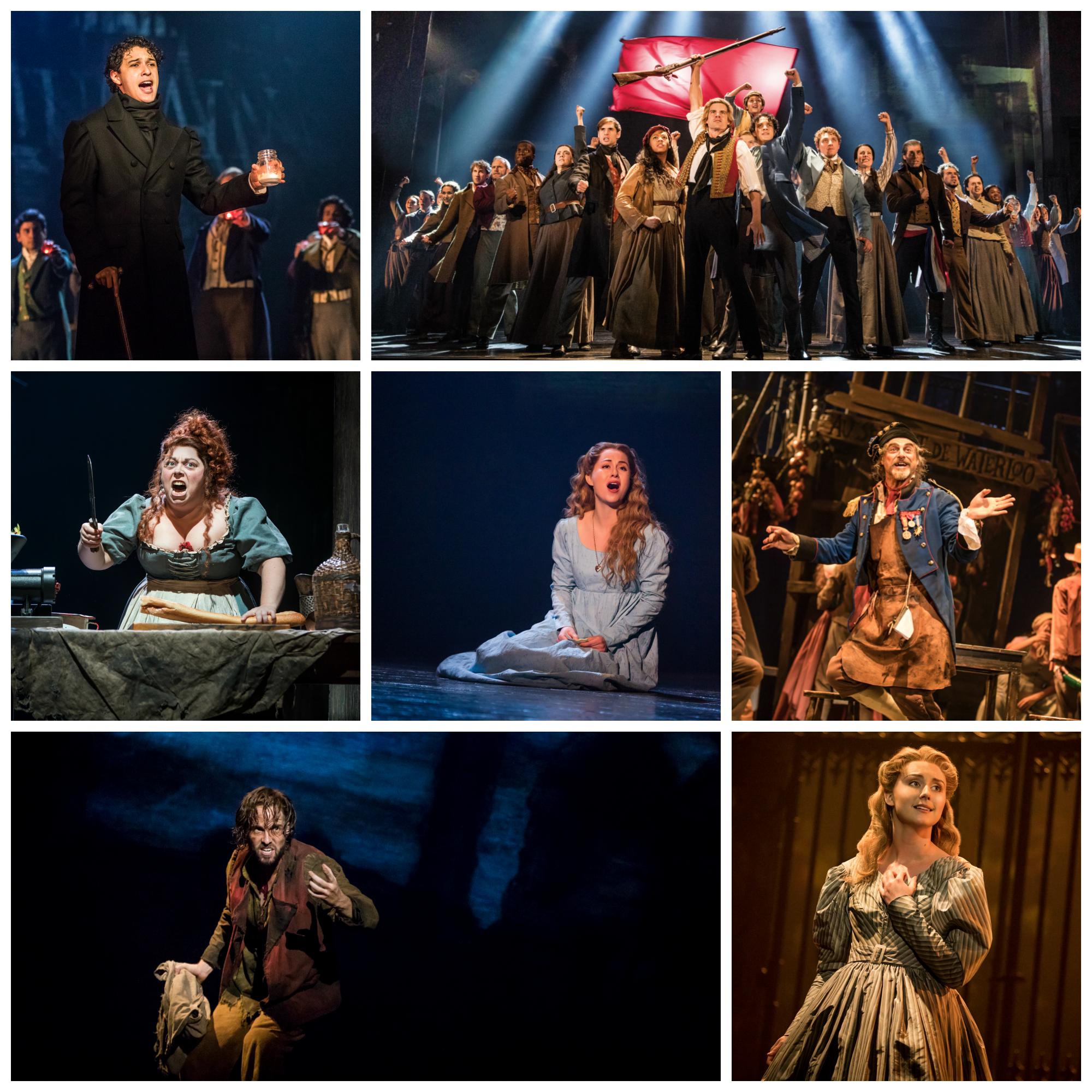 Scenes from Les Misérables United States Tour.