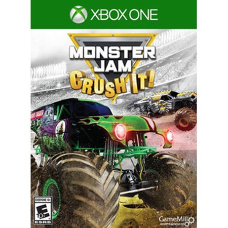 Monster Jam Crush It Xbox One Video Games.