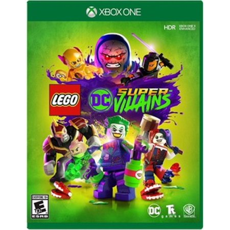 DC Super Villains Xbox One Video Games.