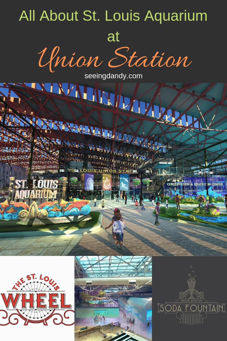 St. Louis Union Station Aquarium details.