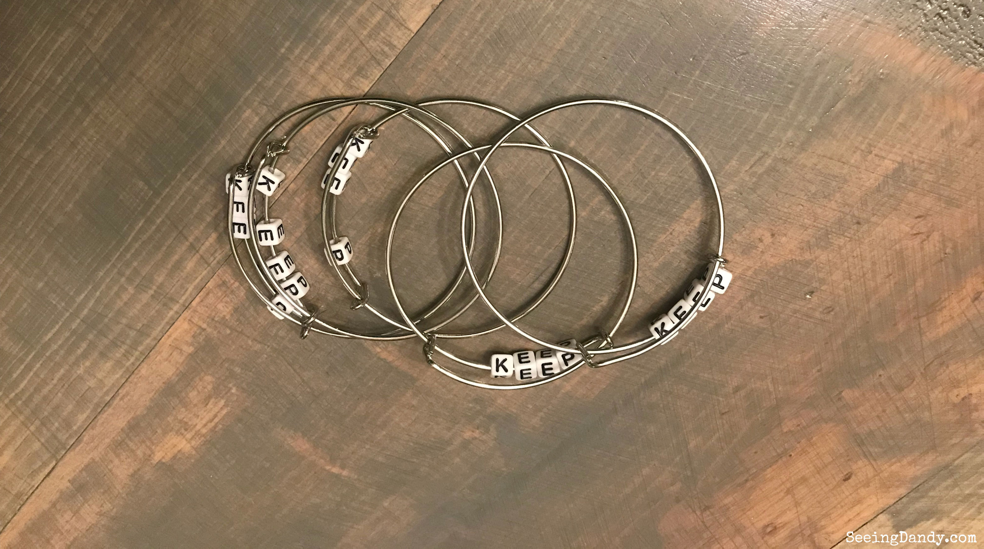 Church of Jesus Christ of Latter-Day Saints 2019 mutual theme bracelets.
