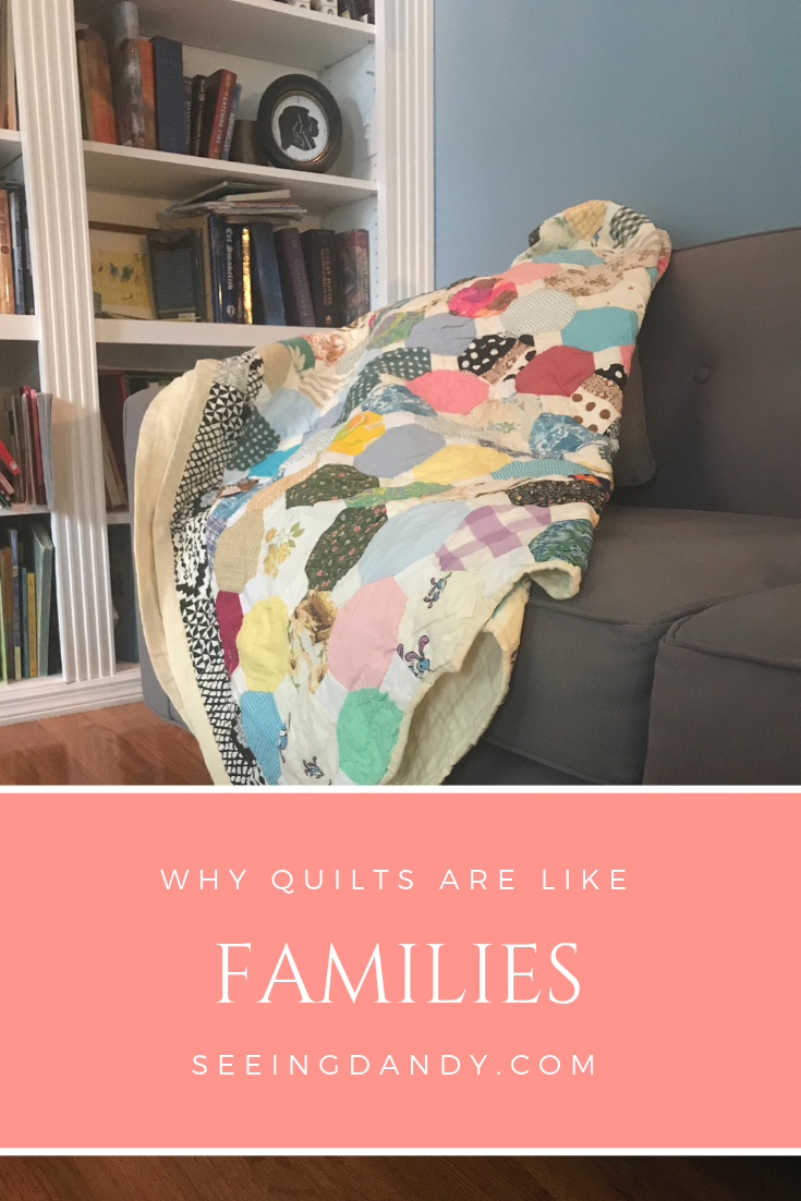 Families together forever favorite quilt pattern.