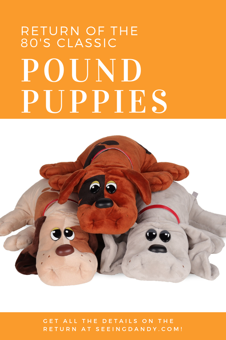Basic Fun Toys return of 80's Classic Pound Puppies.
