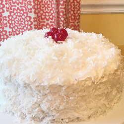 Pineapple coconut cake dessert recipe.