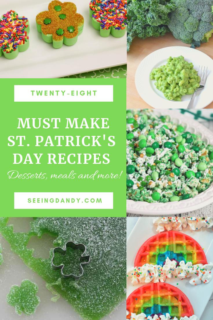 Easy to make Saint Patricks Day recipes