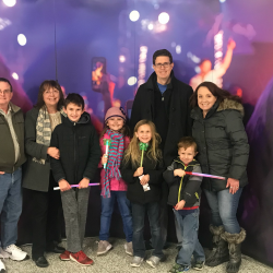 Multigenerational family activity at Enterprise Center for Disney On Ice.