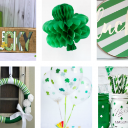 Easy to make St. Patrick's Day decor.
