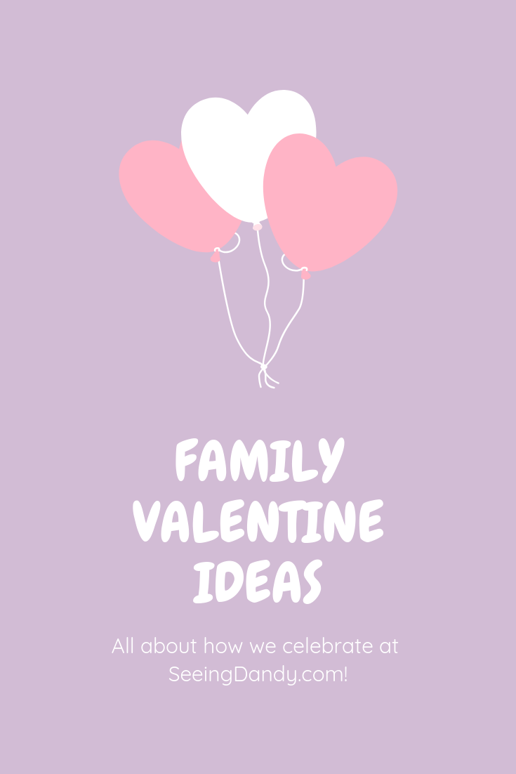 Family Valentine's Day idea.