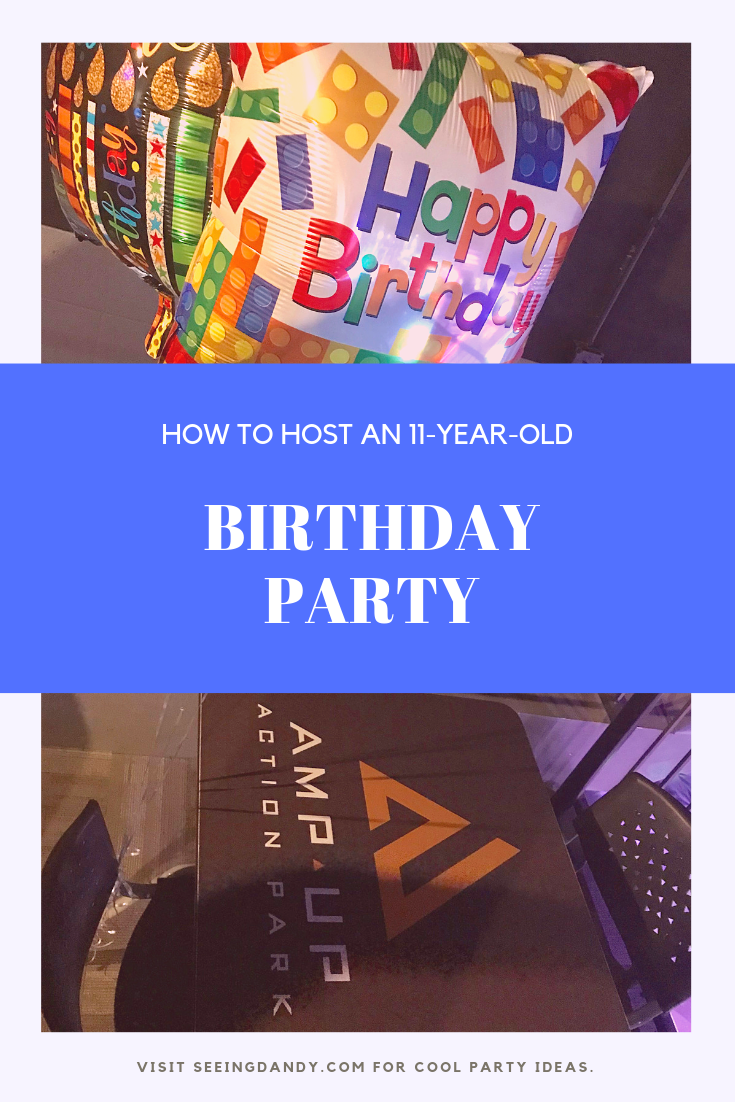 How to host an 11-year-old birthday party at Amp Up Action Park.
