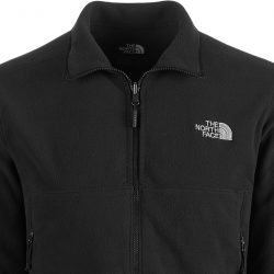The North Face black fleece.