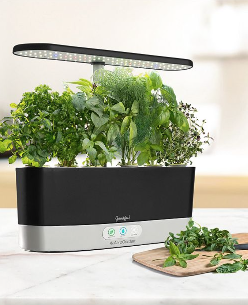 Goodful AeroGarden indoor herb garden Mothers Day gift ideas.