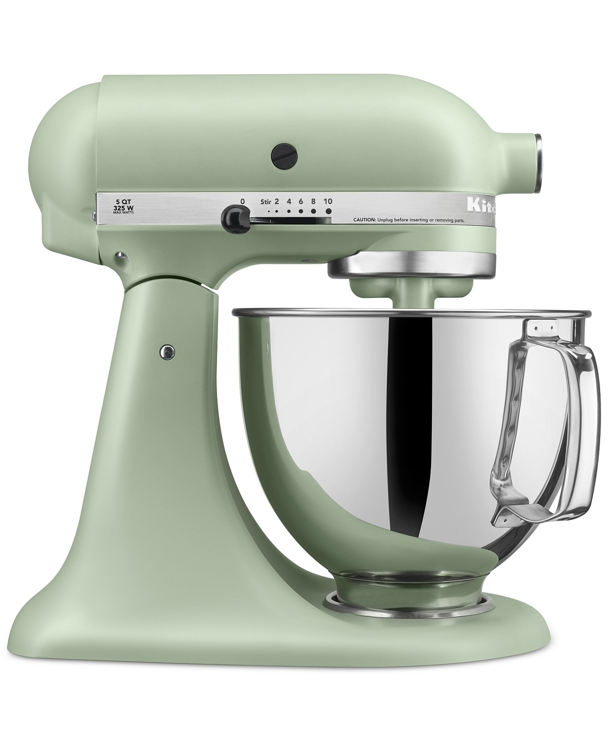 Matte Pistachio KitchenAid mixer Mother's Day gift idea.