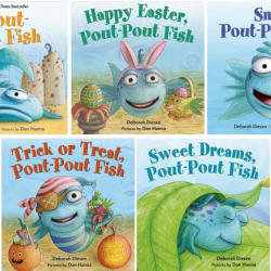 Favorite Pout Pout Fish books for kids.