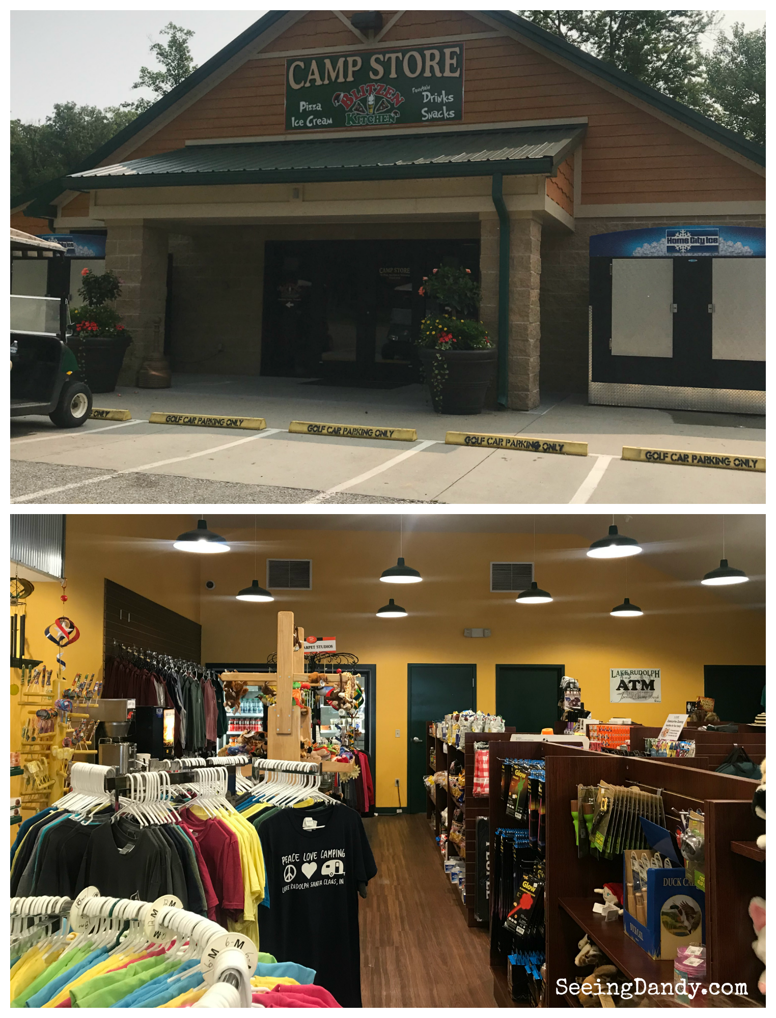 Lake Rudolph camp store.