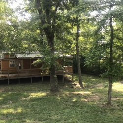 Lake Rudolph glamping in Santa Claus, Indiana.