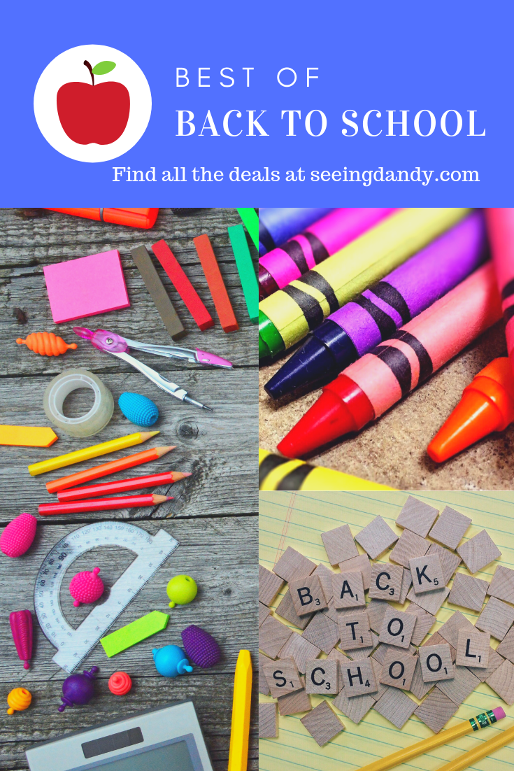 Best of Back to School shopping deals.