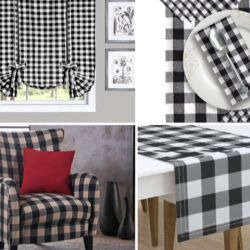 10 Buffalo Plaid Decor In Farmhouse Style