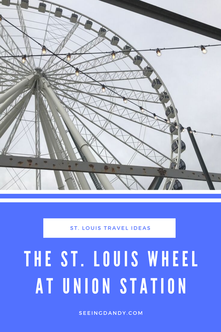 St. Louis Union Station ferris wheel must see travel destination.