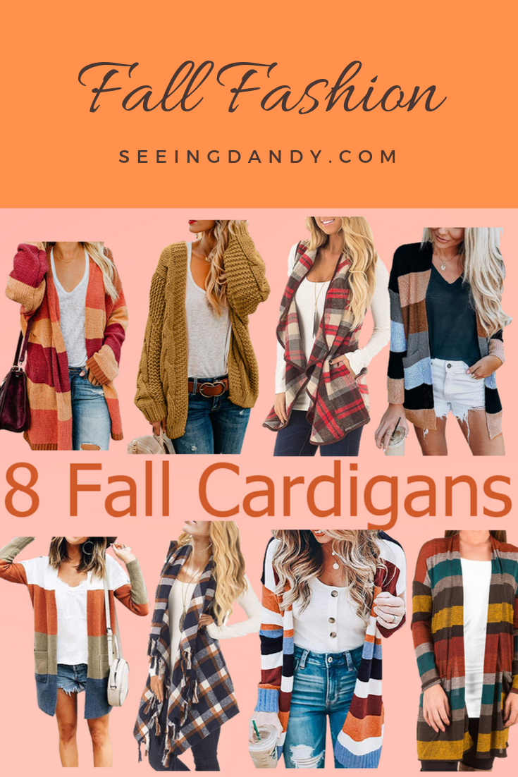 Mom style fall cardigans.