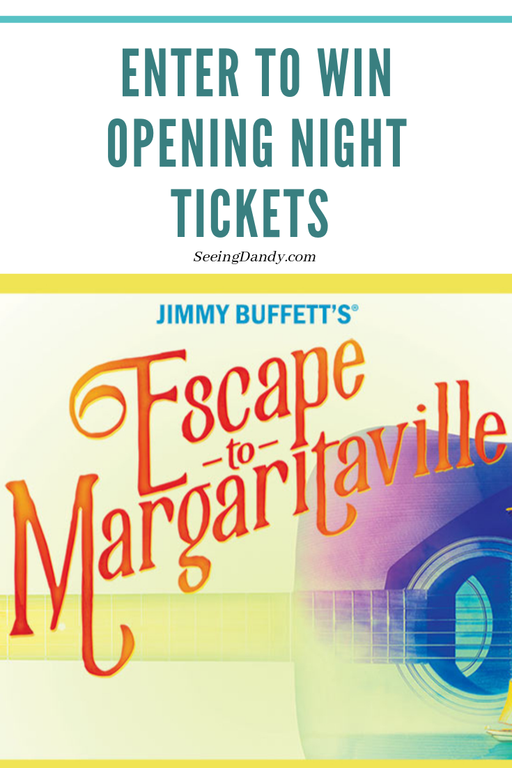 Enter to win opening night tickets to Jimmy Buffett's Escape to Margaritaville at the Fabulous Fox Theatre in St. Louis, MO.