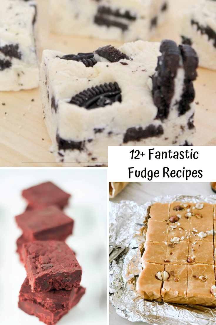 Easy to make fantastic fudge recipes for the holidays.