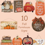 10 Best Fall Farmhouse Style Signs