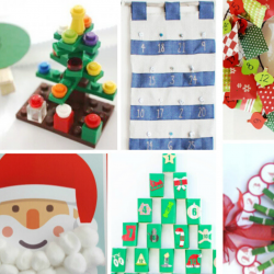 21 DIY Christmas Advent Calendars