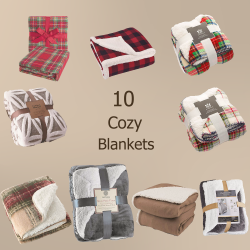10 Cozy Blankets Perfect For Holiday Gift Giving