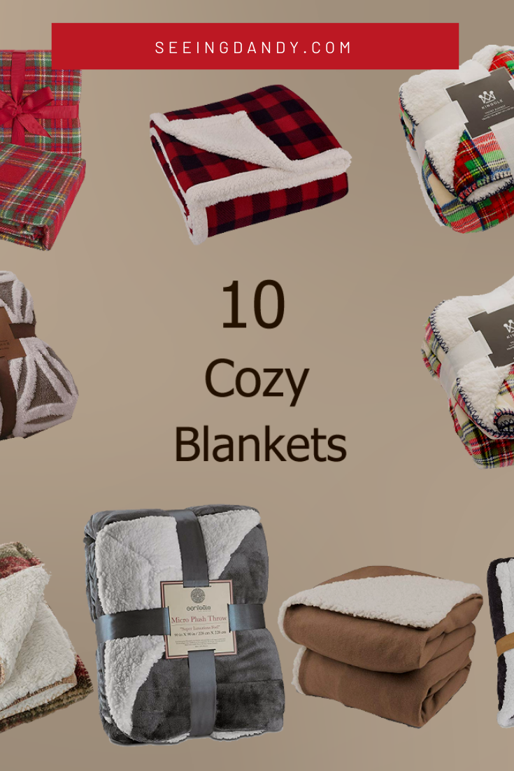 Best cozy blankets for holiday gift giving.