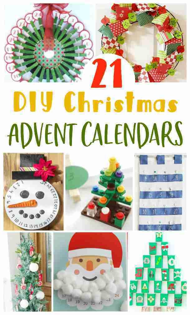 Easy DIY Christmas advent calendars