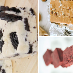 Delicious fudge recipes.