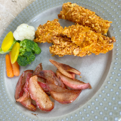 Doritos crusted pork sirloin dinner ideas.