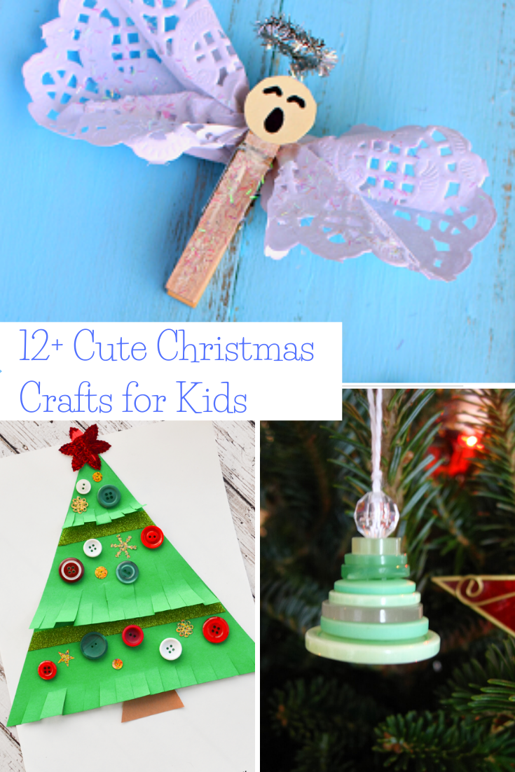Easy DIY cute Christmas crafts for kids to create at school holiday party