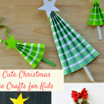 14+ Christmas Tree Crafts For Kids School Holiday Party