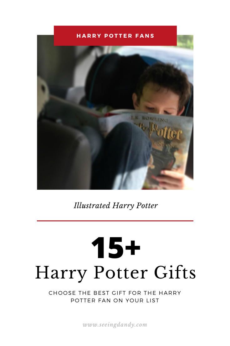 Best Harry Potter gifts illustrated edition books