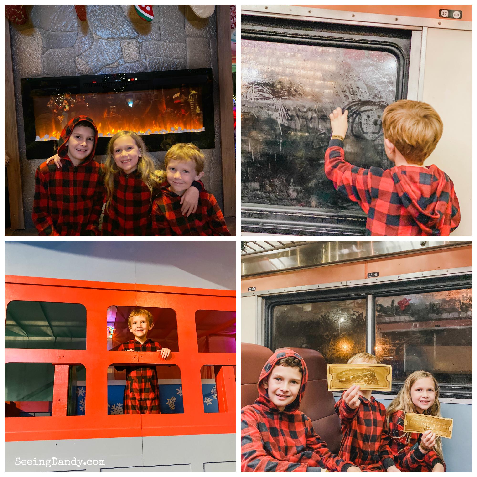 St. Louis Polar Express train ride family fun golden tickets