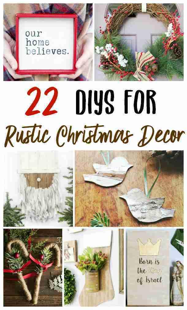Diy Rustic Farmhouse Christmas Decor Seeing Dandy