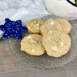White Chocolate Coconut Snowflake Cookies Recipe