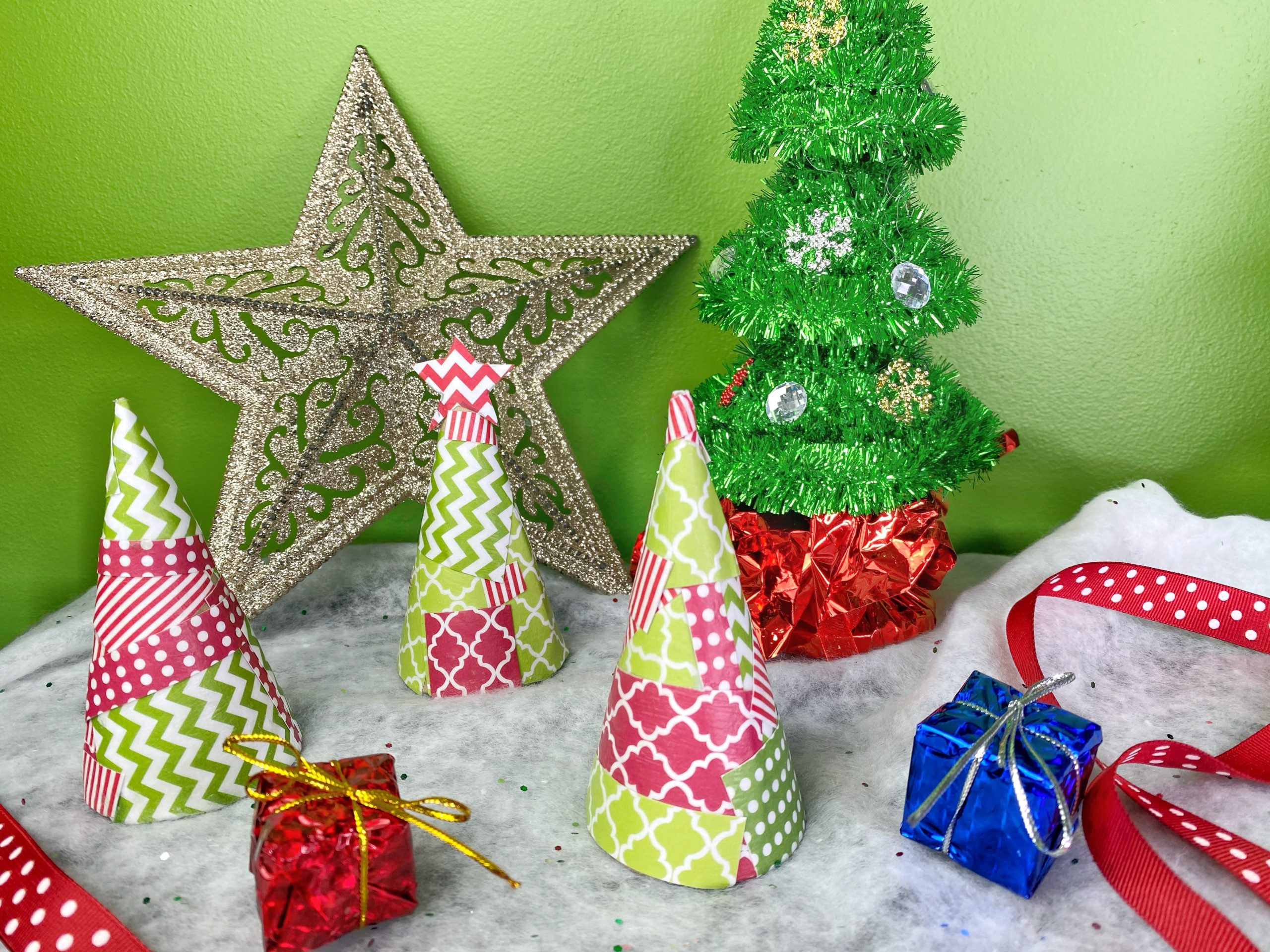 Diy Whoville Christmas Tree Craft Seeing Dandy
