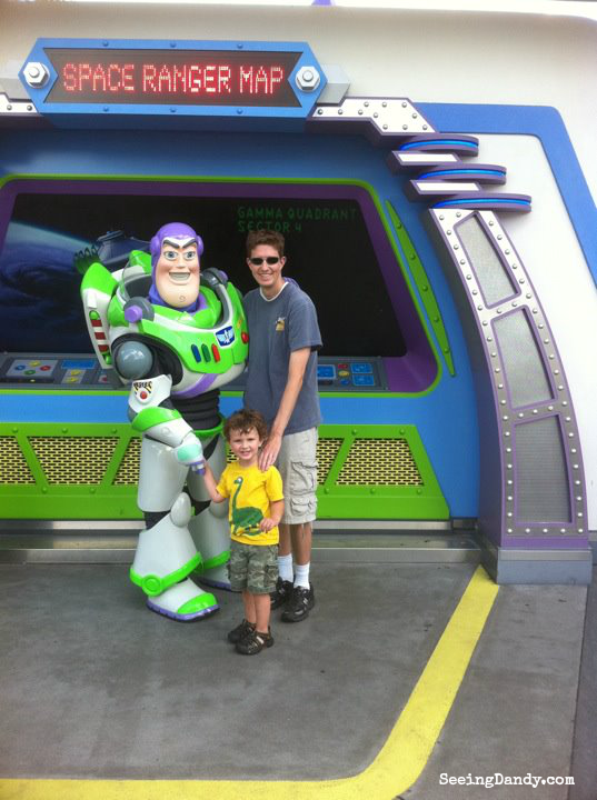 Toy Story 3 In Real Life Buzz Lightyear Disney World Space Ranger Ride
