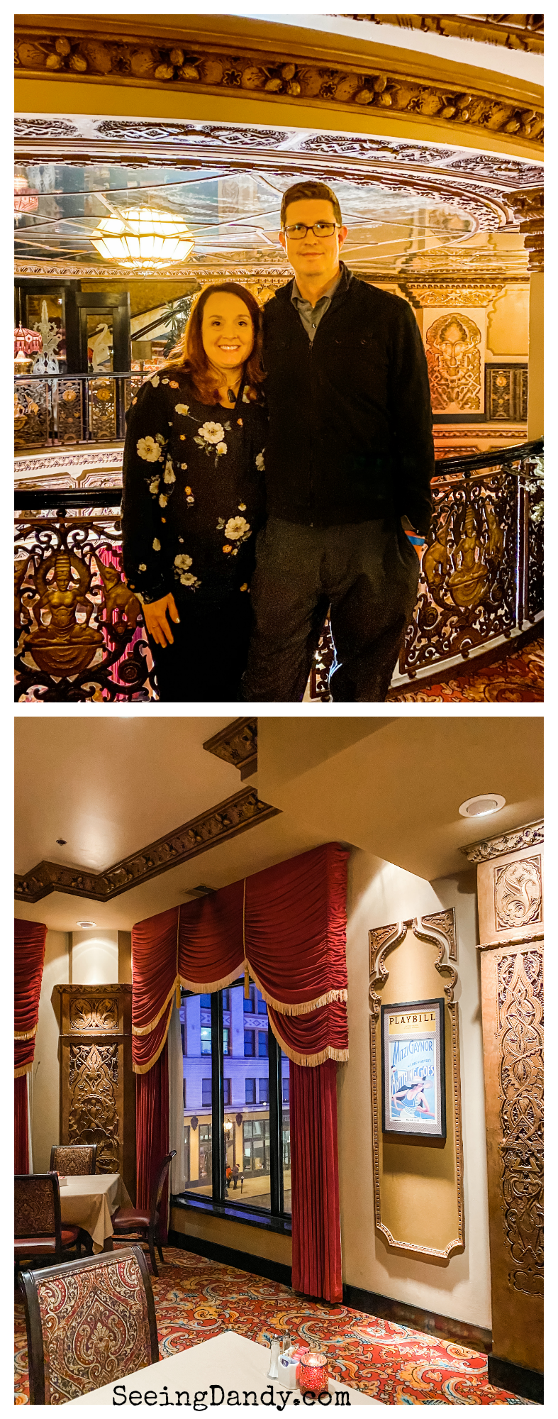 Fabulous Fox Theatre in St Louis Fox Club Lounge